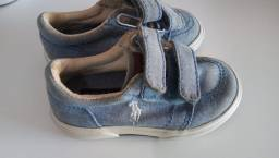 Título do anúncio: Sapatenis Jeans Polo Ralph Lauren - Tam.21