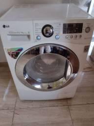 Vendo máquina lava e seca LG 8.5 kilos.. 1390.  Entrego sem custo