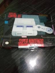 Caixa de super Nintendo