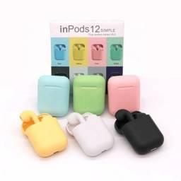 Título do anúncio: InPods i12 Coloridos Bluetooth 5.0  TWS Touch (fazemos entregas)