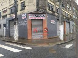 Título do anúncio: Loja para alugar, 350 m² por R$ 8.000,00/mês - Centro - Santos/SP
