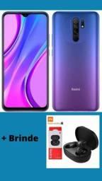 Título do anúncio: Xiaomi Redmi 9 - 64GB 4GB de Ram + Brinde
