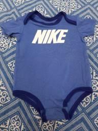 Body Bebê Nike Original - Tamanho 6 a 9 meses