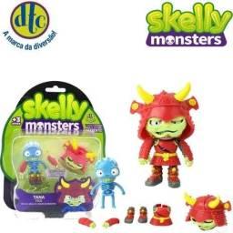 Título do anúncio: Boneco Skelly Monsters Guile - Minotauro