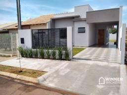Casa com 3 dormitórios à venda, 80 m² por R$ 260.000,00 - Residencial Olímpico - Cianorte/