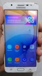 Título do anúncio: Samsung j7 prime..32 gigas trincado