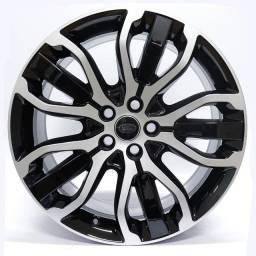 Título do anúncio: Jogo Roda Original Land Rover Sport Aro 21x9,5 Preta Diamantada 5x120 Et 49 Usada
