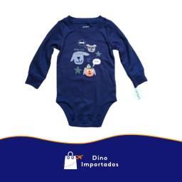 Body Carter's - bebê 9 meses - Azul Marinho - importado dos Estados Unidos