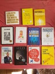 Pack 11 livros variados auto ajuda e etc
