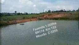 Título do anúncio: Fazenda na BR174 Km 153, na pista, 1.000ha. MISTA p Gado e Peixe