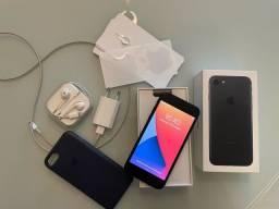 Título do anúncio: Iphone 7 128gb Preto Completo Todo Original