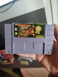 Donkey Kong country original SNES