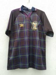 Camisa seleção da Escócia Eurocopa 1996