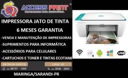 impressora wireless Multifuncional HP DeskJet Ink Advantage 2676