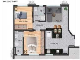 Título do anúncio: Apartamento à venda, 2 quartos, 2 suítes, 2 vagas, Anchieta - Belo Horizonte/MG
