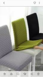 Título do anúncio: Lindissimas capas cadeiras.19,90.