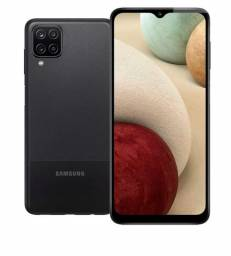 "Celular Smartphone Galaxy A12 64Gb 6,5"" Samsung - Preto"