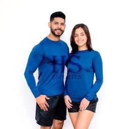 Camisa Térmica Segunda Pele Unissex Proteção UV 50+