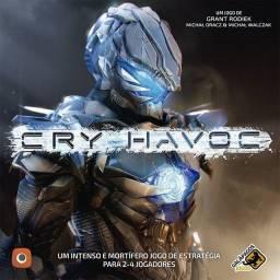 Título do anúncio:  Exp Cry-Havoc + Extras