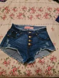 Título do anúncio: Shorts Jeans com lycra