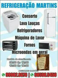 Título do anúncio: Serviços refrigeração, conserto máquinas, micros , fornos e lava louças