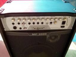 Caixa Amplificada FRAHM MP 2000-semi nova