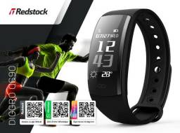 Redstock | 3x Sem Juros + Frete Grátis * Smartband Diggro QS90 Batimentos Pressão - Preto