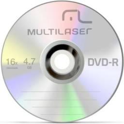 Dvd-R Multilaser 4,7gb 16x 1 Unid