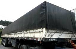 Carreta Guerra graneleira 14,50m assoalho de ferro - 2008