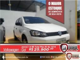Volkswagen Gol (novo) 1.0 Mi Total Flex 8V 4p - 2014