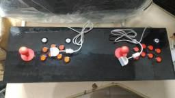 Fliperama bancada arcade para PS1 PS2 e PS3