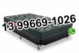 9550cfe881 Cama Box Casal Nova!!! Promoção!!! 2 Travesseiros de Brinde -