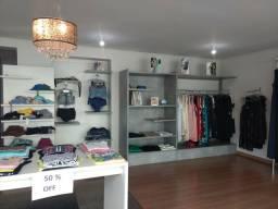 Instalação completa para loja de roupas