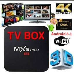 Tv Box Lançamento Android 8.1/3GB.RAM/16GB.MEM,Loja especializada em Cachoeirinha!
