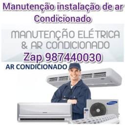Manutenção instalação ar Condicionado Profissional