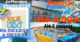 Diárias Apto Caldas Novas Resort do Lago