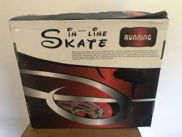 Patins Roller In Line + Kit Protecao