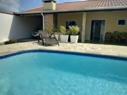 Casa temporada com piscina ar condicionado e wi fi