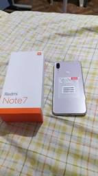 Xiaomi redmi note 7 branco pérola. 64 de memória interna