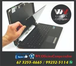 Tela Notebook Instalada com Garantia! Parcelo até 12x