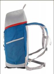 Mochila Térmica Bolsa Térmica Cooler 30 Litros Azul/Cinza