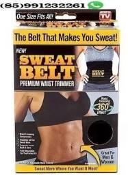 Emagreça com a nova cinta swealt belt unissex(Frete Gratis)