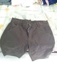 Bermudas novas tamanho 42 e 44 jeans