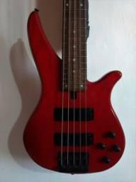 Contra-baixo Yamaha 765a 5 cordas