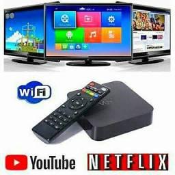 Sua TV smart com Internet Netflix YouTube