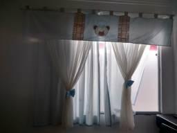 Kit berço + cortina