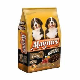 Ração Magnus Premium filhotes 25kg - Aceito Cartão