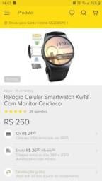 Relógio celular smartwatch