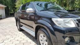 Toyota hilux srv 4x4 diesel automática - 2012