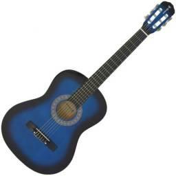 Vendo ou troco Violão Acústico Clássico 6 Cordas Blueburst Aubvo617 Auburn